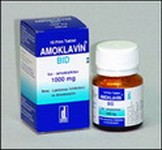 AMOKLAVIN-BID 1000 mg 10 Tablet