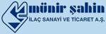 M�nir �ahin �la� Sanayi ve Ticaret A.�. Logo
